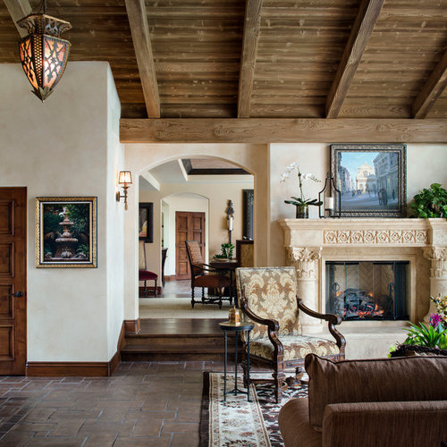 Spanish Style Homes Spanish Spanish Home Design Ideas: Spanish-style Living Room