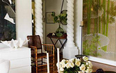 Houzz Tour: Layering Colour and Texture in a Spanish Mission Apartment
