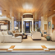 Contemporary Living Room by ibi designs