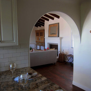 Spanish style Archway and Fireplace Mantel
