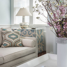 Traditional Living Room by Digs Design Company