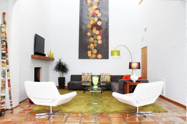 Midcentury Living Room by Adam Breaux