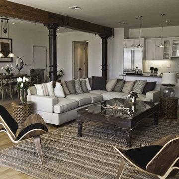 Spice Warehouse Tribeca Loft Living Room