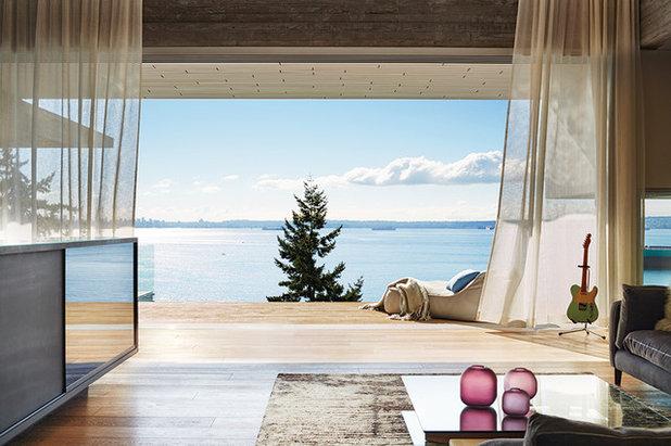 Minimalistisch Wohnbereich by Accoya Wood