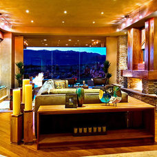 Contemporary Living Room by Harmonic Environments