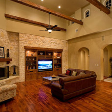 Mediterranean  by Russell Eppright Custom Homes