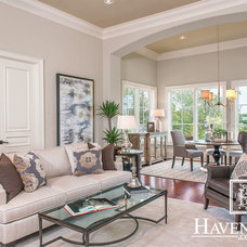 Transitional Living Room by HavenHome.com