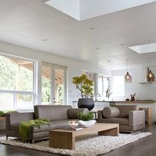 Contemporary Living Room by Mesh by Shari Saiki