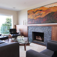 Midcentury Living Room by Meade Design Group