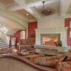 Traditional Living Room by John Pittman III, Architect/Builder