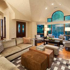 Modern Living Room by Robyn Scott Interiors, Ltd.