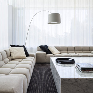 Example of a trendy formal living room design in Adelaide