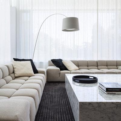Contemporary Living Room by D'Cruz Design Group Sydney Interior Designers