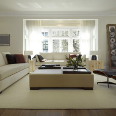 Contemporary Living Room by Upscale Construction