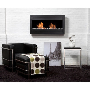 Square 2 Wall Mounted Ethanol Fireplace