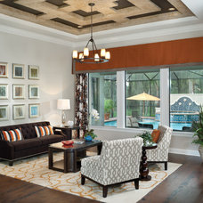 Eclectic Living Room by Arthur Rutenberg Homes