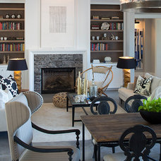 Farmhouse Living Room by Artistic Designs for Living, Tineke Triggs