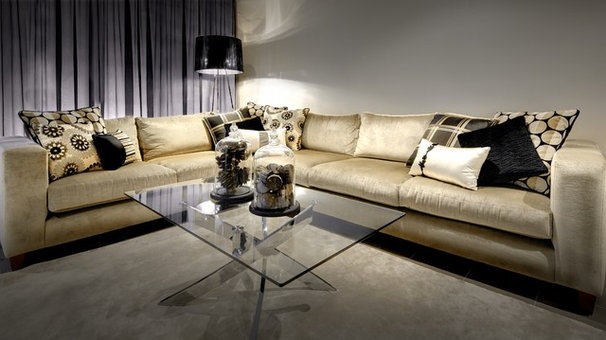 Contemporary Living Room by Cohesive By Design