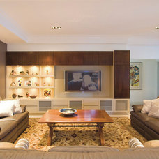 Contemporary Living Room by Kristie Paul