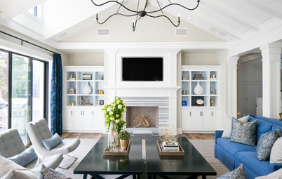 Coastal Style Houzz Tour Light And Easy In Newport Beach