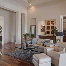 Modern Living Room by Imperial Homes of Southwest Florida Inc