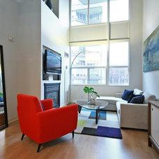Modern Living Room by High Street Design