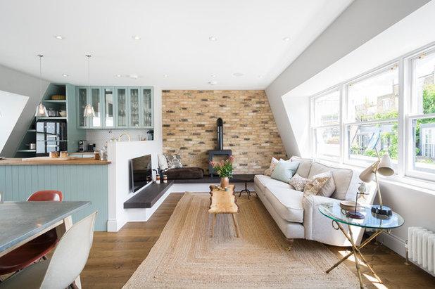 Landhausstil wohnbereich by domus nova
