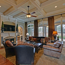 Traditional Living Room by Envision Web