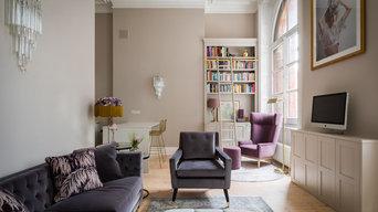 St Pancras - Bespoke cabinet and wardrobe units - Honey Bee Interiors Collab