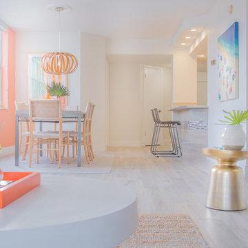 St. Petersburg, Florida beach home renovation