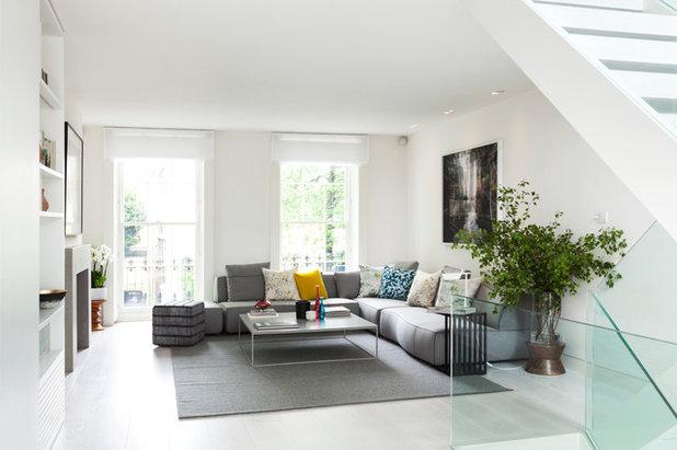 Contemporary Living Room by Domus Nova