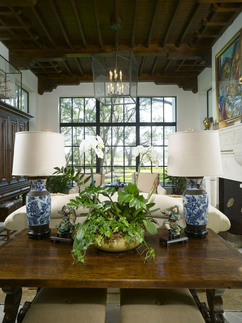 Blue And White Lamp | Houzz