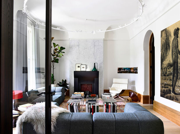 Living Room by B.E Architecture