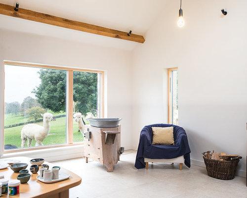 Rustic Modern Minimalist Living Room Design Ideas Remodels Photos Houzz