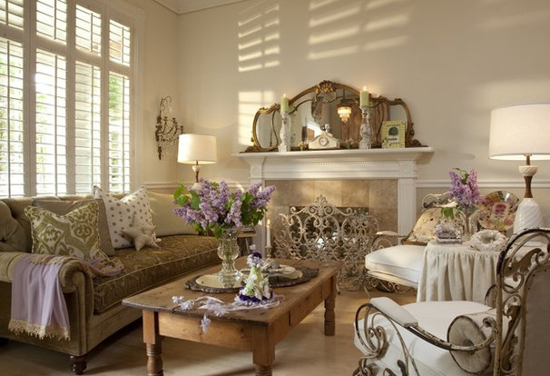 Eclectic Living Room by Stacey Costello Design