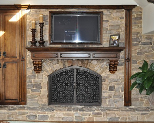 SaveEmail - Fireplace Remodeling Ideas Design Ideas & Remodel Pictures Houzz