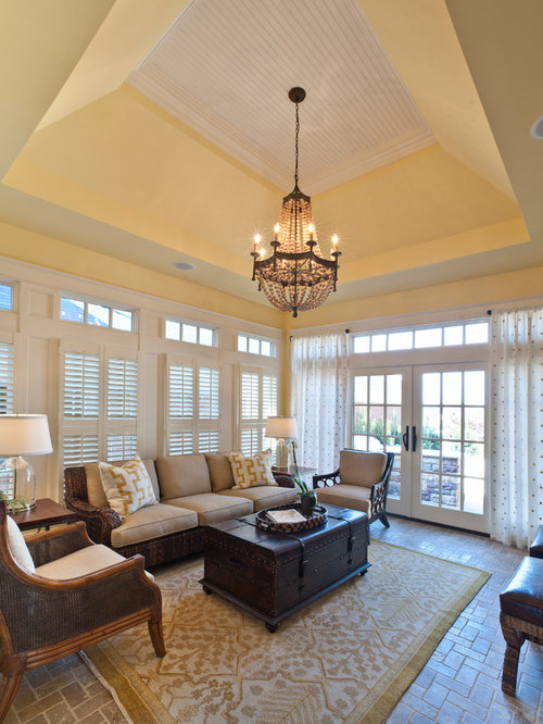 Tiles Design For Living Room Wall: Living Room Design Ideas, Renovations & Photos With Brick