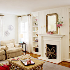 Traditional Living Room by Annie's Designs