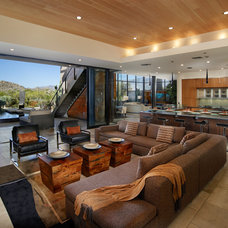 Contemporary Living Room by Contents Interiors