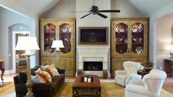 Staged Formal Living room