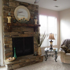 Traditional Living Room by Absolute Makeover