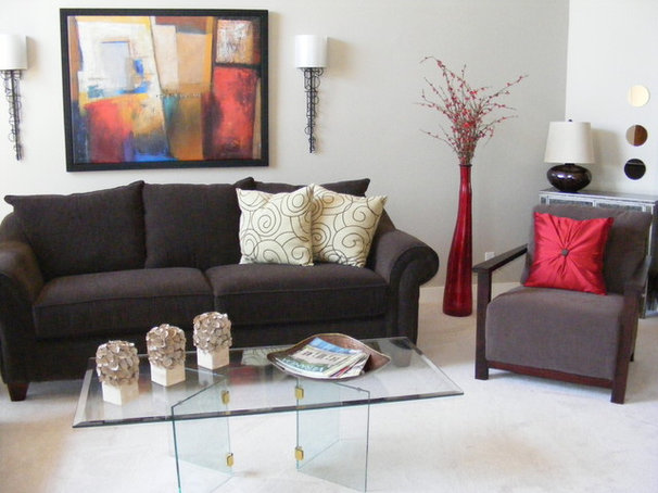 Traditional Living Room by The Property Promoters