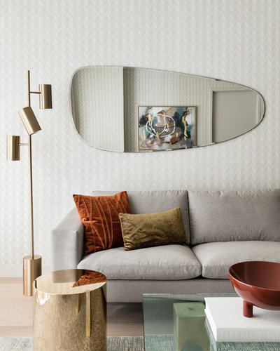 Midcentury Living Room by The New Design Project