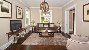 Staging of vacant home