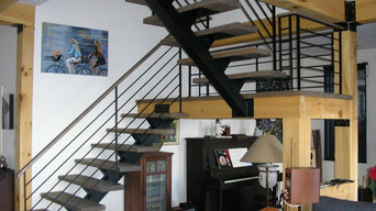 stair and steel furniture