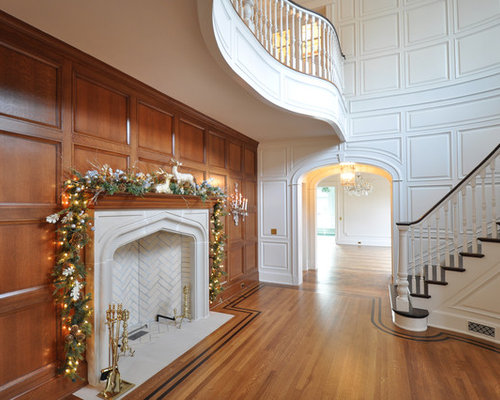 White Wood Panel Home Design Ideas Pictures Remodel And