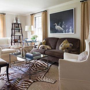 Zebra Rug Living Room Ideas & Photos | Houzz