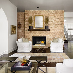 traditional living room by Hugh Jefferson Randolph Architects
