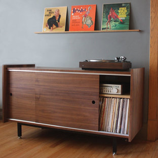 Standard Audio Credenza and Record Rail