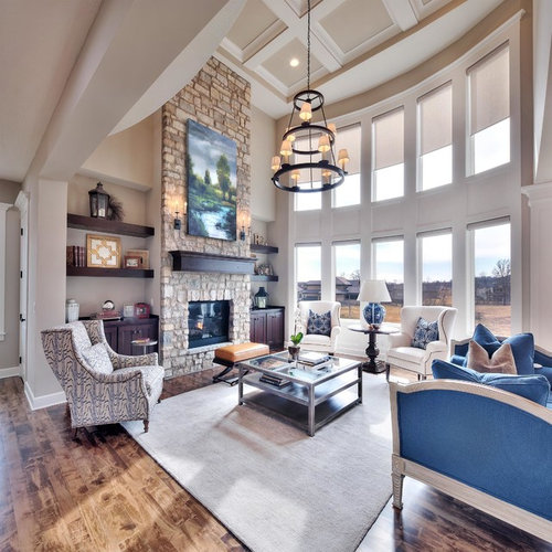 Inspirations For Transitional Living Room: Transitional Living Room Design Ideas, Remodels & Photos